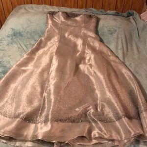 Mike  Benet Dresses - Silver mike Benetton Forman